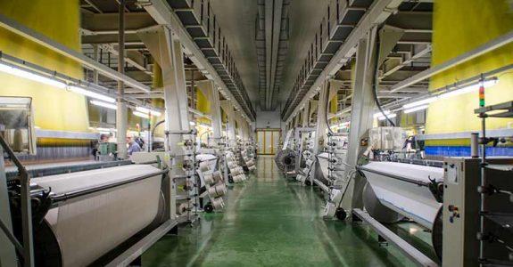 Instalación de un nuevo sistema MES en la planta de tejeduría de Aznar Textil