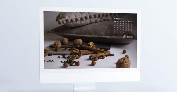 Descarga el calendario del mes de octubre